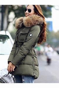 Parka Femme Vrai Fourrure : doudoune parka femme vrai fourrure mode robe et v tement ~ Melissatoandfro.com Idées de Décoration