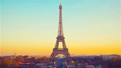 Eiffel Tower Paris Wallpapers France Sunset Desktop