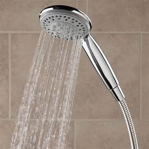The Superior Pressure Boosting Handheld Showerhead