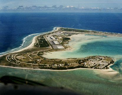 Wake Island...made a fuel stop here once... Had a sandwich ...