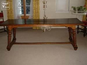 Table En Bois Massif Ancienne : table ancienne de chateau en bois de ch ne massif blonay 1807 ~ Teatrodelosmanantiales.com Idées de Décoration