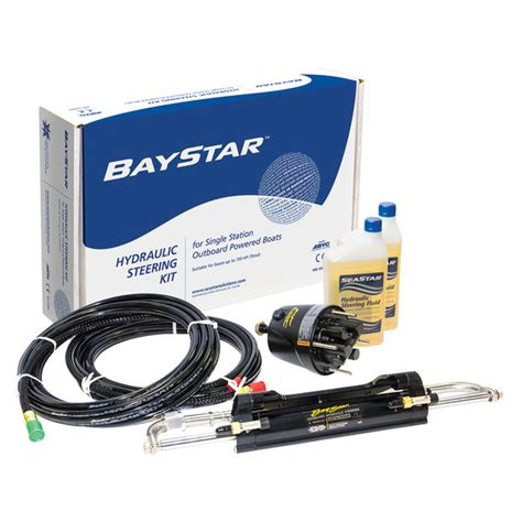Hydraulic Boat Steering System by Seastar Solutions Baystar Outboard Steering System West
