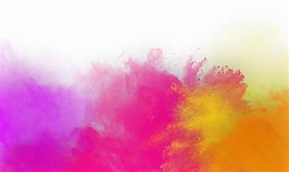 Holi Colors Transparent Festival Pngio Shape Watercolor