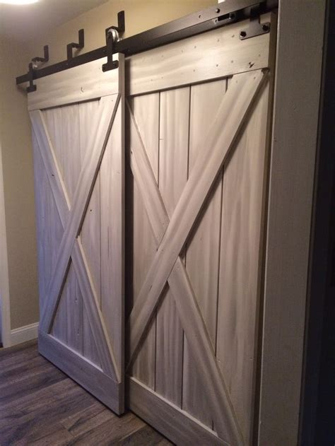 Small White Kitchen Ideas - barn doors for closets that present rustic outlooks in unique details homesfeed