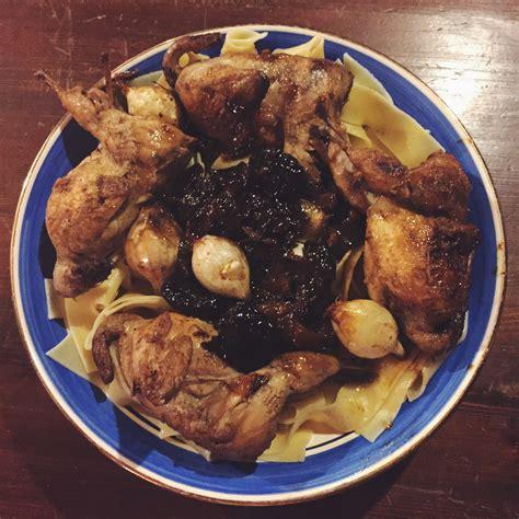 cuisiner les cailles recette de cailles aux pruneaux n o h o l i t a