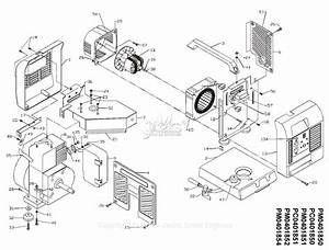 Powermate Formerly Coleman Pm0401851 Parts Diagram For