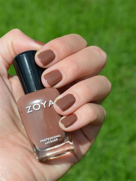 dea by zoya warm milky light brown nude creme with soft