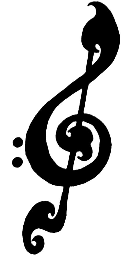Treble Clef Tattoos Designs, Ideas and Meaning | Tattoos