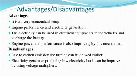 Ppt On Electricity Generation From Exhaust Hot Gases