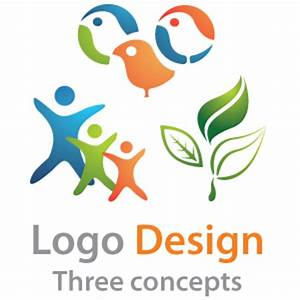Logo design - three conepts logo package.