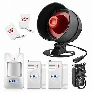 The Newest Kerui Standalone Home Shop Security Alarm