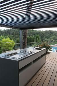 Cuisine D Ete : cuisine d 39 ext rieur cuisine d 39 t inside cr ation ~ Melissatoandfro.com Idées de Décoration