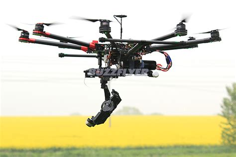 buzzflyer quadcopter  aerial photography builds buzzflyer uk
