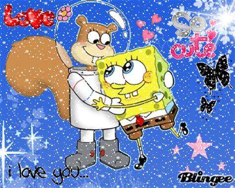 spongebob  sandy picture  blingeecom