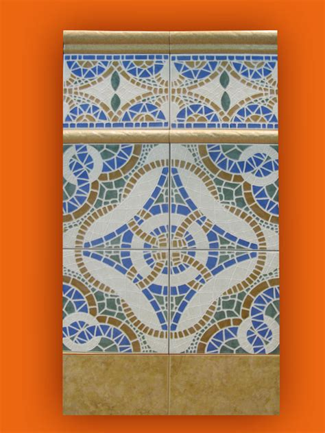 carrelage andalous 20x20 zocalo azulejos 1er choix