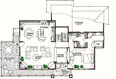 multi level house floor plans contemporary multi level 16610gr architectural designs
