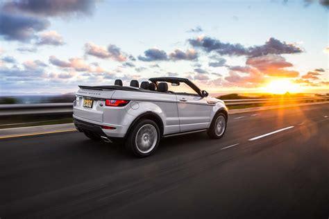 rang rover evoque cabriolet 2017 range rover evoque convertible test motor trend