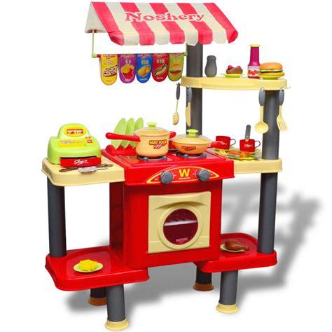 acheter cuisine jouet grande pour enfants pas cher vidaxl fr