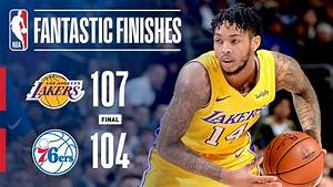 Lakers Seal The Game Vs 76ers With Brandon Ingram Game