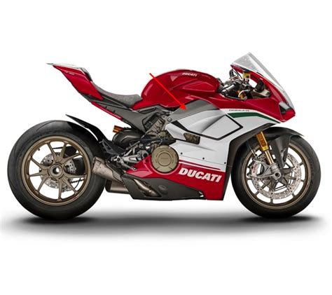 Ducati Panigale V4 Carbon Edition by Fullsix Ducati Panigale V4 Carbon Fibre Frame Covers Set