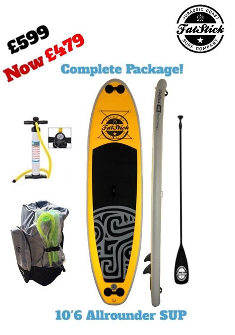mellow yellow siege social fatstick paddlebord