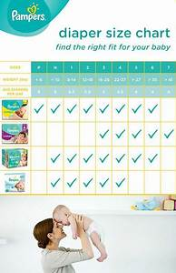 Diaper Size And Weight Chart Guide