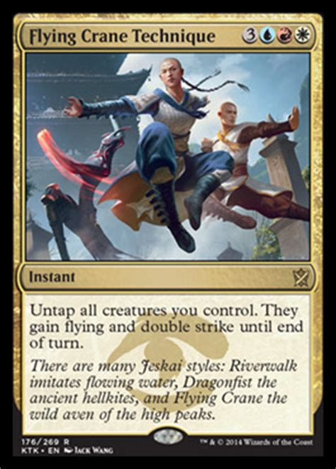 Flying Crane Technique | KHANS OF TARKIR Visual Spoiler