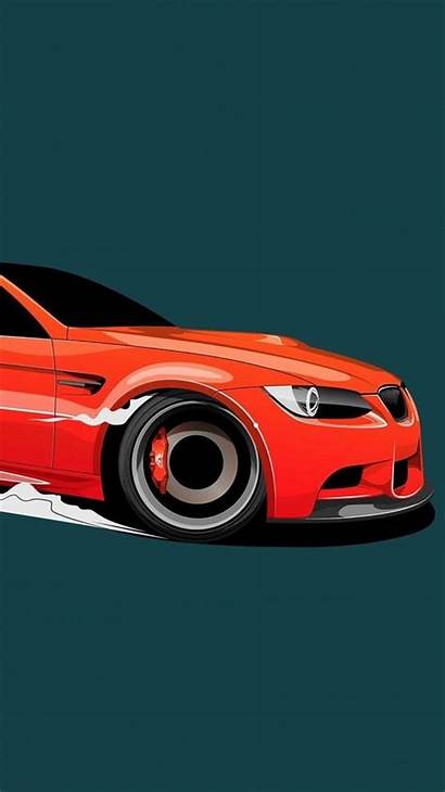 Bmw Minimal Iphone Wallpapers Coches Cars Sunset