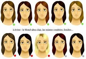 Quelle Couleur De Rouge A Levre Pour Une Brune Peau Claire : mod le couleur cheveux teint pale ~ Dode.kayakingforconservation.com Idées de Décoration