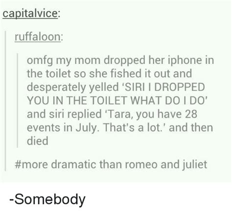 dropped my iphone in the toilet capitalvice ruffaloon omfg my dropped iphone in