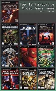 Top 10 Ps2 Games By Starwarsclub123 On Deviantart