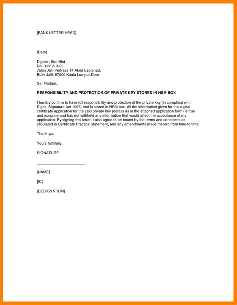 bank debit authority letter format authorization home