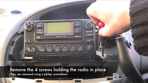 Toyota Previa Estima Radio Blown Fuse Youtube