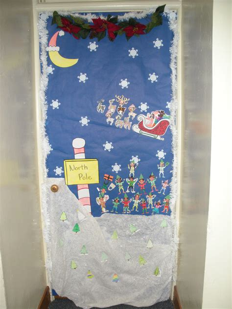 Classroom Christmas Door Decorating Ideas