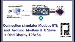 Connection Simulator Modbus Rtu And Arduino Modbus Slave