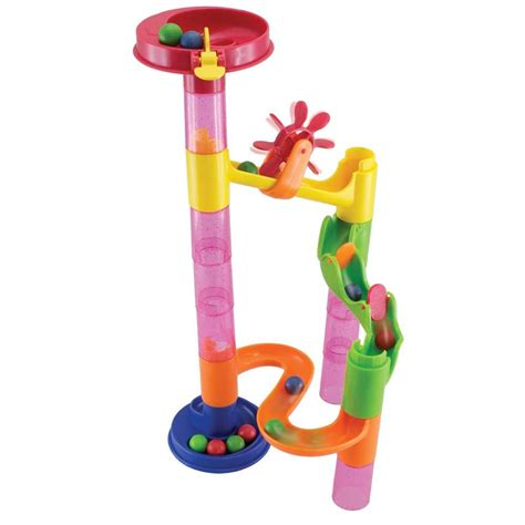 marble pieces marbureka deluxe 29 piece marble run set childrens toy