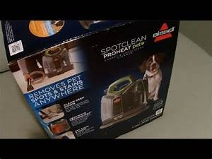 Bissell Spotclean Proheat Pet Carpet  U0026 Upholstery Cleaner