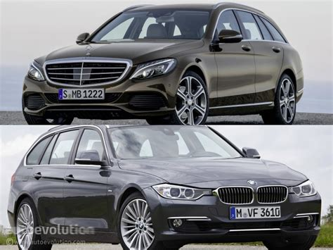 Mercedes-benz C-class Estate S205 Vs Bmw 3 Series Touring
