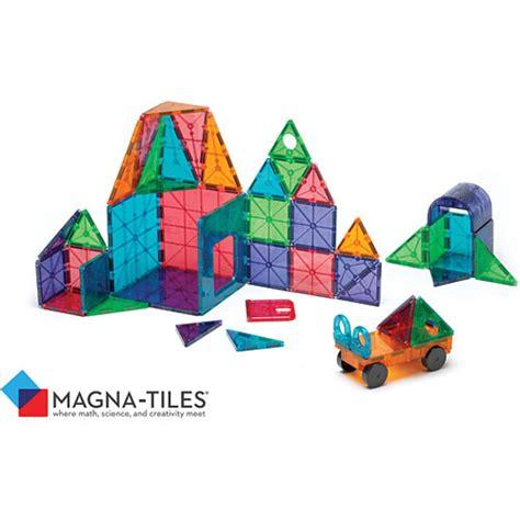 magna tiles clear colors magna tiles clear colors 48 pc dx set imagine that toys