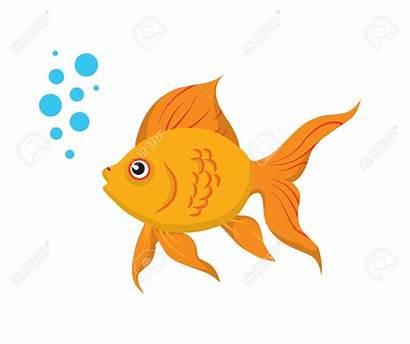 Goldfish Fish Clipart Gold Clip Background Golden