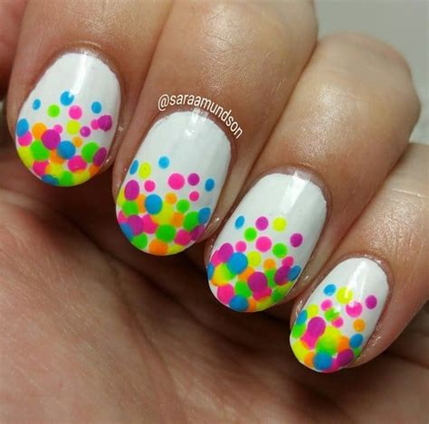 stunning rainbow nail art designs  sheideas