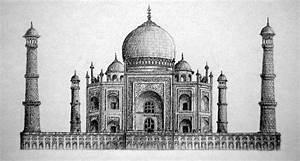 Beautiful Taj Mahal Drawings and Sketches