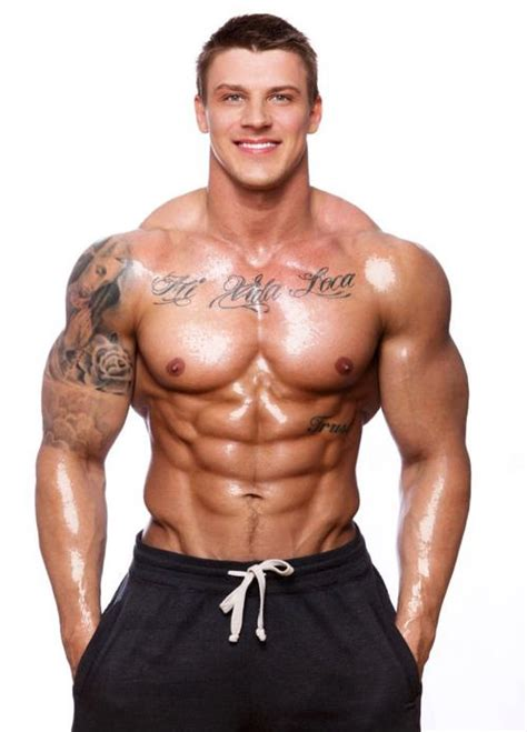 latvian born bodybuilder  fitness model gints valdmanis