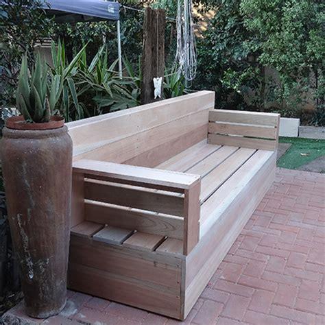 home dzine home diy diy wood patio furniture