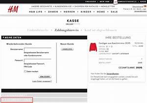 H M Rechnung Verloren : rechnungskauf bei h m kauf auf rechnung bei h m ~ Themetempest.com Abrechnung