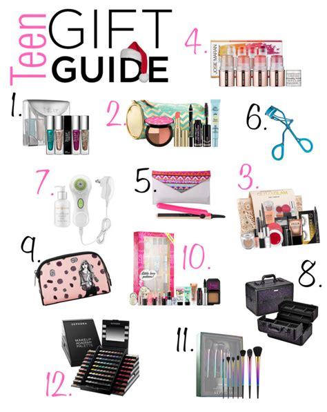 12 teenage girl gifts for christmas beauty makeup edition