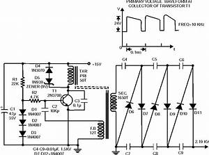 High Voltage Low Current Supply Circuit Diagram