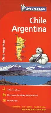 mapa rodoviario  chile  argentina