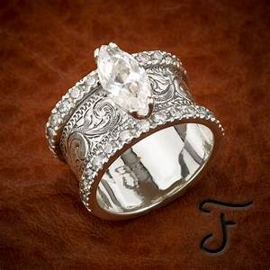 21 beautiful custom western wedding rings navokalcom With custom western wedding rings