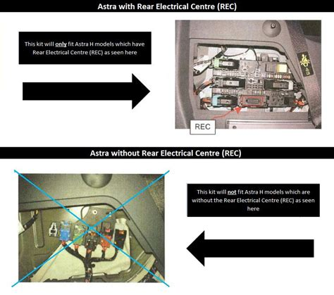 7 pin towbar wiring kit vauxhall astra h estate 04 10